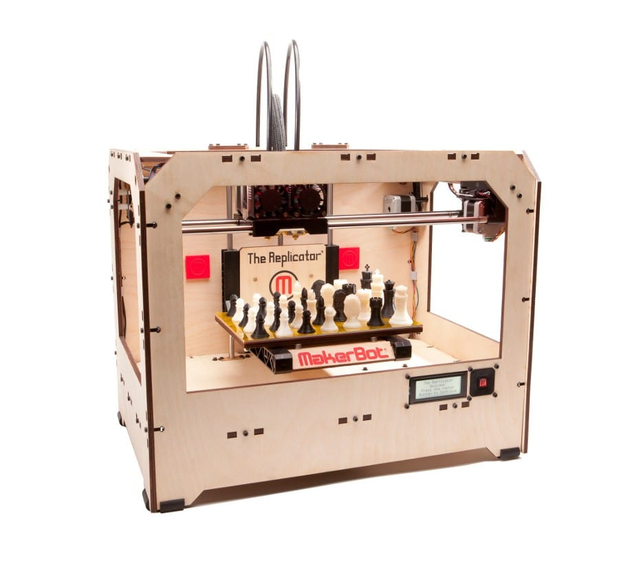 Bringing Home 3D Printing With Marketbot Printers